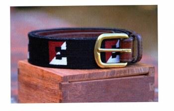 Needlepoint Split E Belt