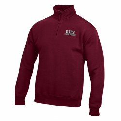 Big Cotton 1/4 Zip maroon xsma
