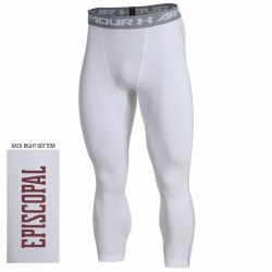 Compression pants white small