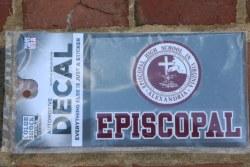 Episcopal Seal Decal