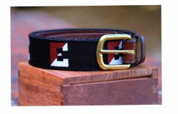 Needlepoint Split E Belt
