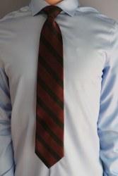Traditional Striped Tie XL