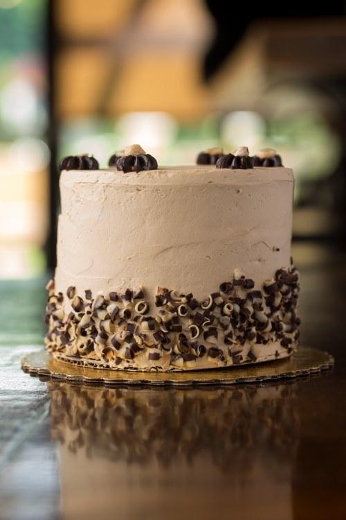 Mocha Chocolate Hazelnut Cake 8 inch round