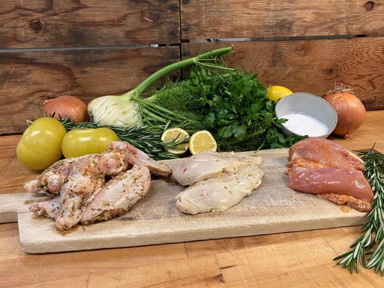 10 lb. Assorted Chicken Butcher Bundle