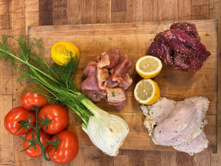 10 lb. Assorted Marinated Butcher Bundle