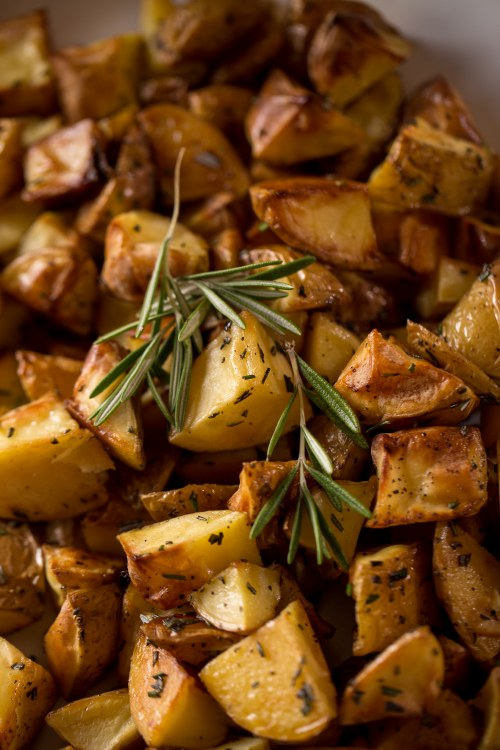 Roasted Potatoes Oven Ready