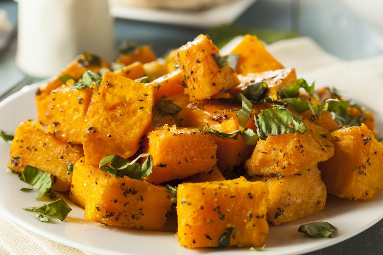 Roasted Butternut Squash Ready to Eat