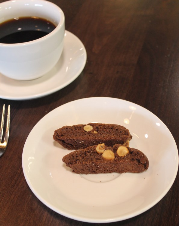 Chocolate Hazelnut Biscotti 1LB.