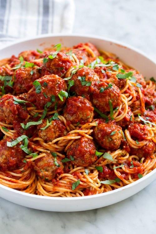 Pasta & Meatball Dinner for 4