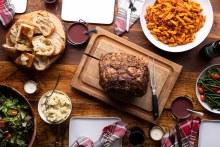 Standing Rib Roast Dinner (Trimed, Tied, Seasoned, Uncooked
