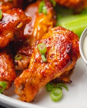 Marinated Chicken Wings 1.5 lb.