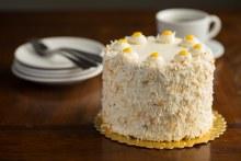 Lemon Coconut Cake 8 in. Round
