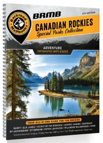 Backroad Mapbook Can Rockies