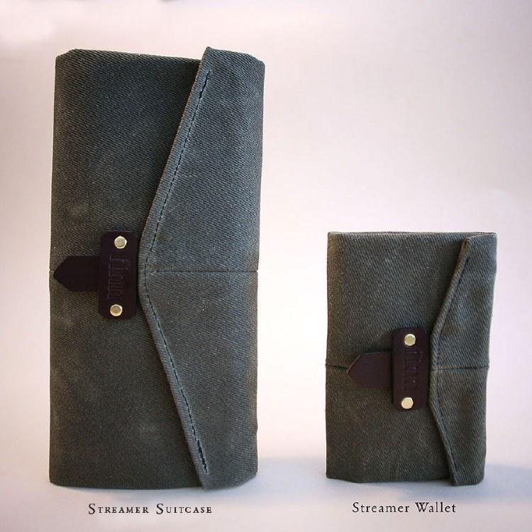 Finn Streamer Suitcase Grey