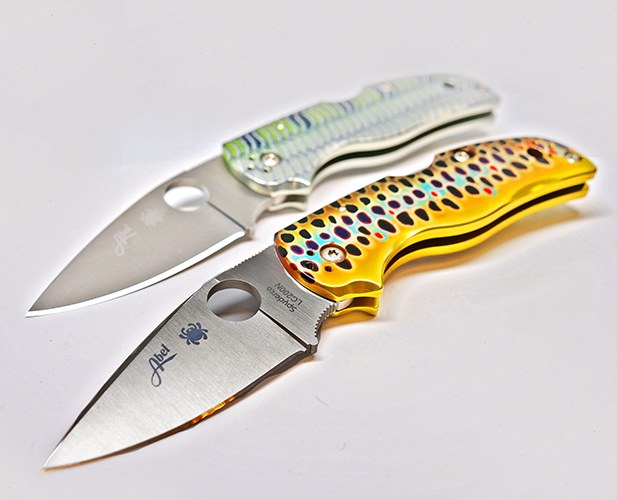 Abel Spyderco Knife Bonefish