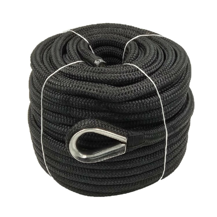 Anchor Rope Black 50'