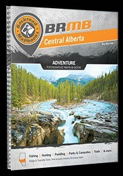 Backroad Map Book Central AB