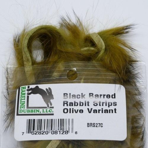 Barred Rabbit Black Olive Var