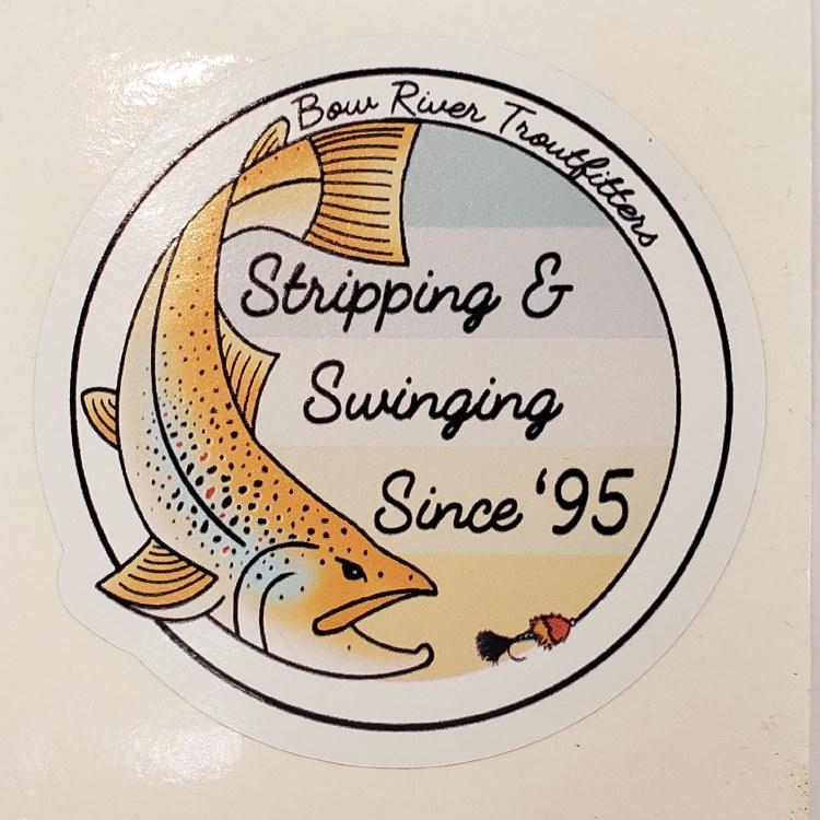BRT Strip and Swing Sticker