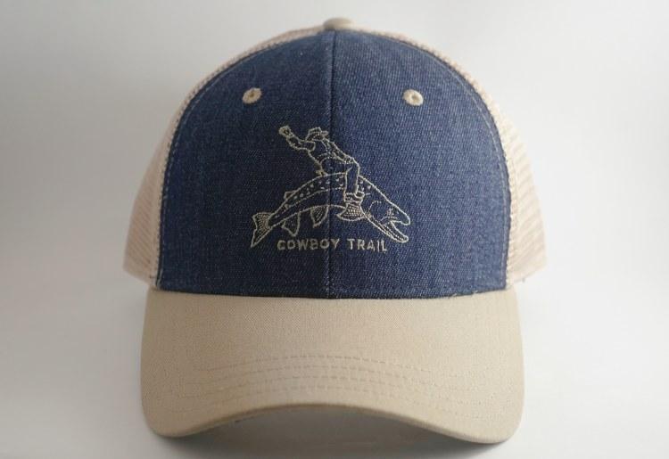 Cowboy Trail Trucker Blue/Kahk