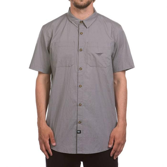 Fly SS Shirt Charcoal Med