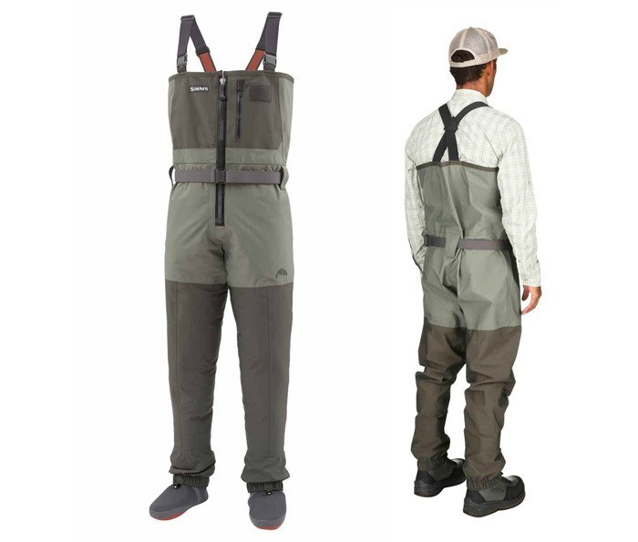 Freestone Z Waders DkGn L