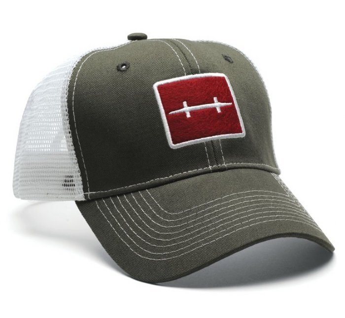 Hatch Icon Trucker Cap Olive