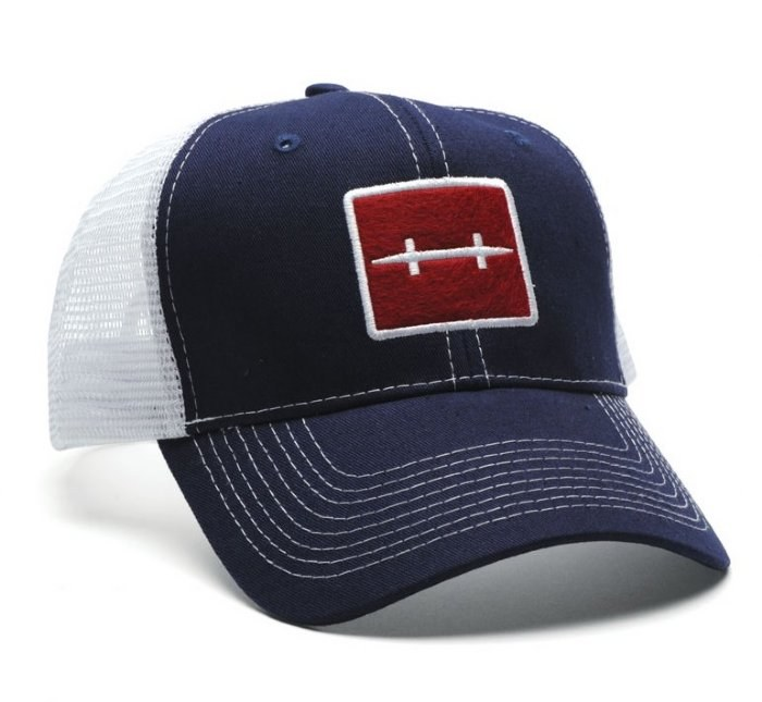 Hatch Trucker Hat Blue