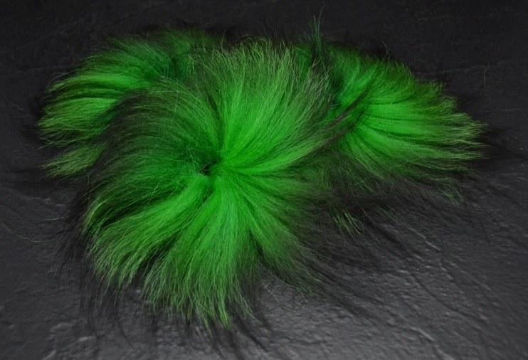 Heritage Fox Fur Chartreuse