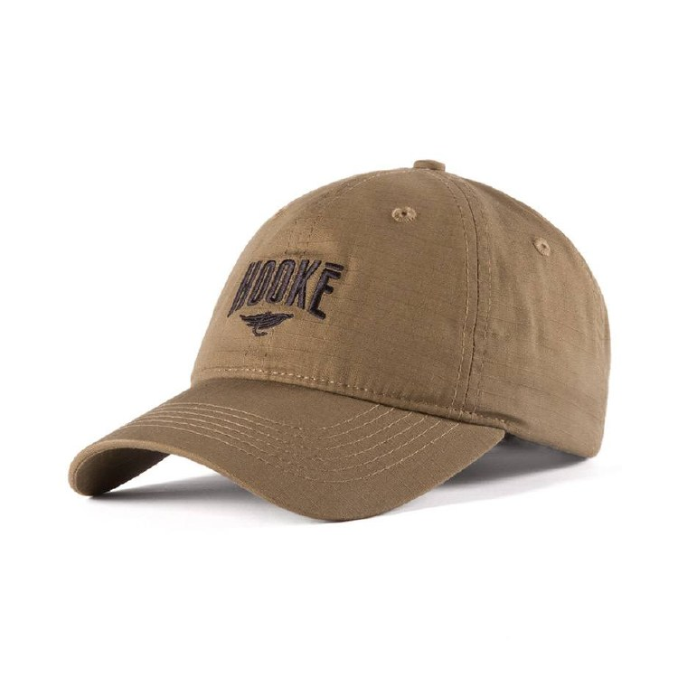 Hooke Ripstop Dad Hat Khaki