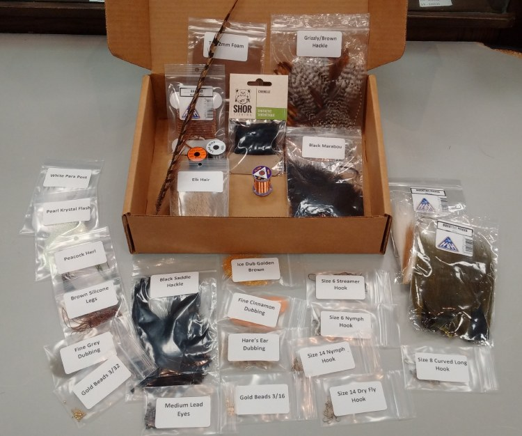 Intro Fly Tying Materials Kit