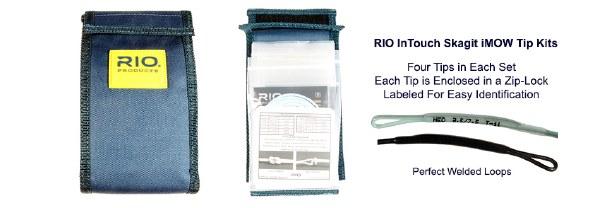 Heavy Rio Skagit InTouch iMOW Tips Kit
