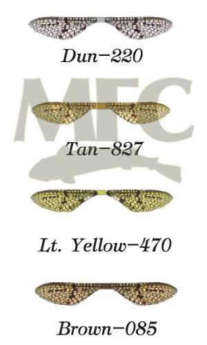 MFC Lazer Mayfly Wing Brown 12