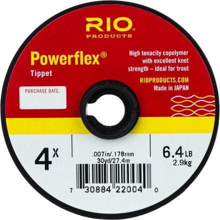 RIO PowerFlex Tippet 6X 30yd