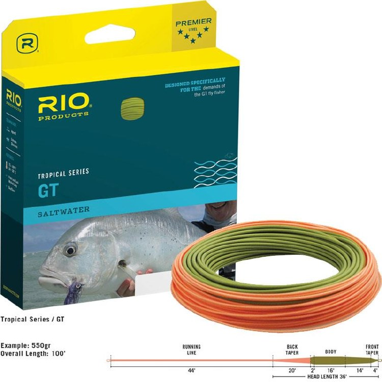 RIO Tropical GT Fly Line 400gr