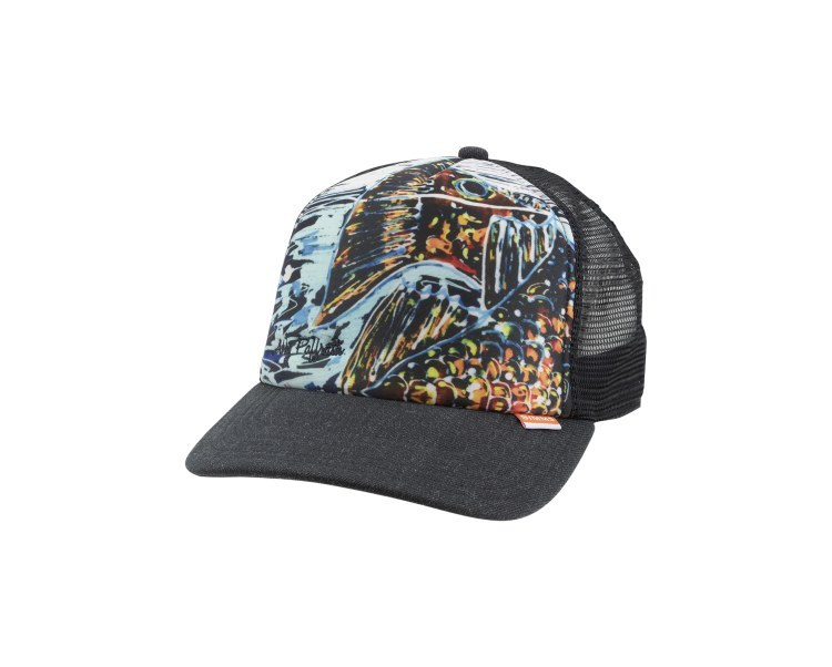 Simms Artist Trucker Hat Black