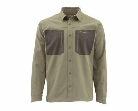 Simms Tongass Shirt M Tan