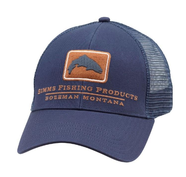 Simms Trout Trucker Hat InkBl