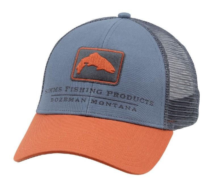Simms Trout Trucker Hat Storm