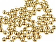 1/16 Gold Beads - 25 Qty