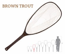 Nomad Emerger Net Brown Trout