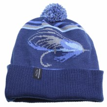 Salmon Fly Knit Hat