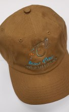 Oil Cloth Cap Brown BRT Logo