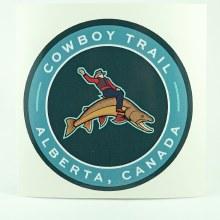 BRT Cowboy Trail Badge/Sticker