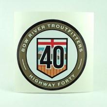 BRT Highway 40 Badge/Sticker