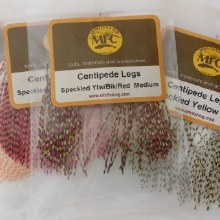 Centipede Legs Speckled Tan -