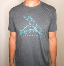 Cowboy Trail T Grey Small