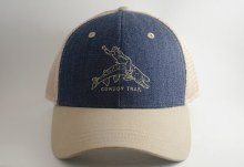 Cowboy Trail Trucker Blue/Kahk