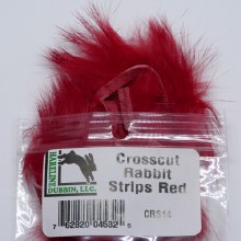 Crosscut Rabbit Red