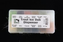 Hareline Trout Ice Dub Dispen